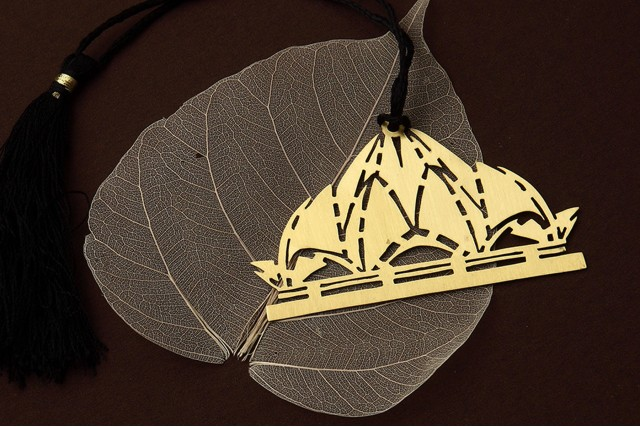 DOME SHAPED BOOKMARK